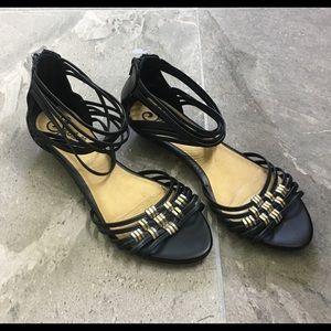 Seychelles Women's ankle strap flats size 6.5